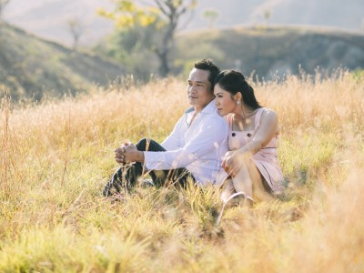 Prewedding Sandy & Sisca // Flores