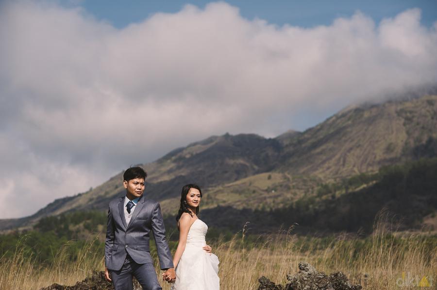 prewedding in batur      kintamani      bali      theyvi  u0026 agoes