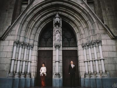 The Cathedral jakarta // Wedding day // Martin & Jess