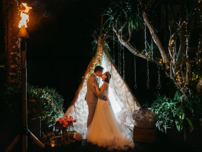 Ayana Villa Wedding Jon & Michelle by Kadek