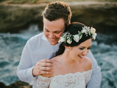 Lembongan Wedding Destination // Shannon & Simon // at Sandybay Beach Club // by Kadek