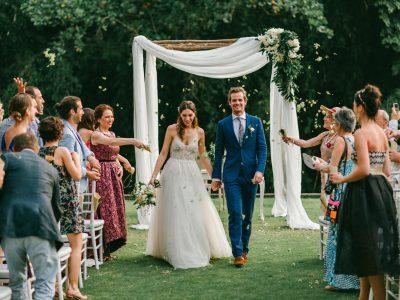 The Sanctuary Villa Wedding // Clement & Armine Wedding by Kadek