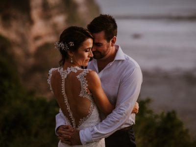 Bali Wedding Destination // Adam + Nicky // Uluwatu Surf Villa - Bali // by Diktat