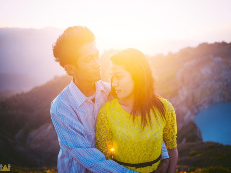 Engagement Destination // Kelimutu lake // Flores