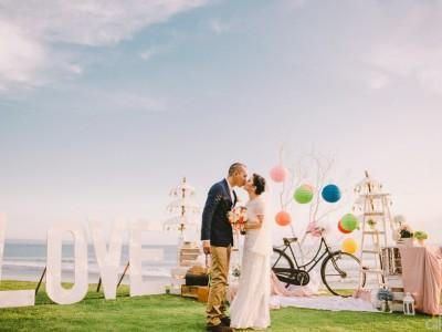 Raymond & Ketzia Wedding // Morabito art villa // Canggu - BALI