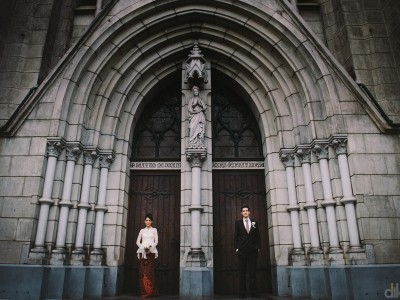 The Cathedral jakarta // Wedding day // Martin & Jess