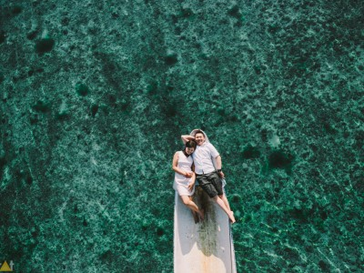 Engagement // Pre wedding Destination to Lembongan island - BALI