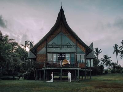 Bali Wedding Destination // Wedding Day David & Leanne at Campuhan Villa - Bali // by Diktat
