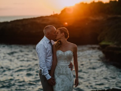 Wedding Day Tammy & Shane // Bali Wedding Destination at Lembongan Island // by Diktat