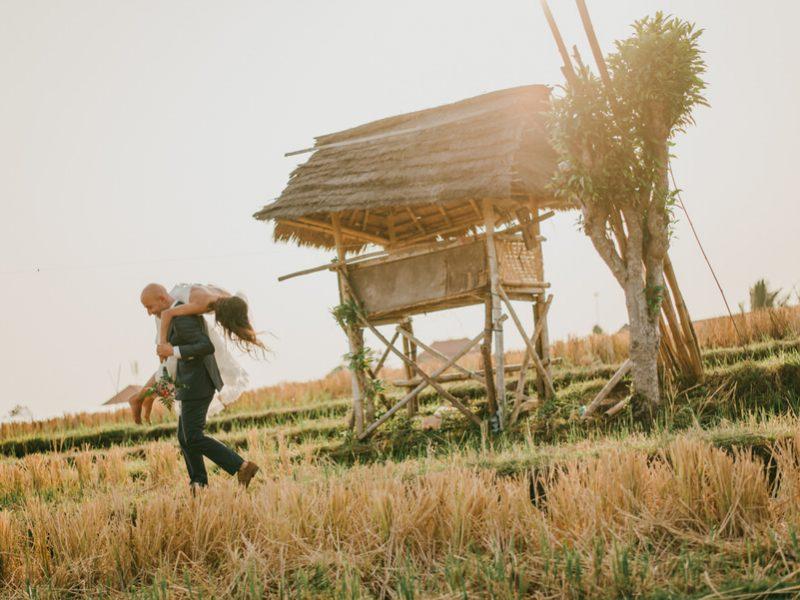 Bali Ethnic Villa Wedding // Stephanie & Changiz Wedding by Kadek
