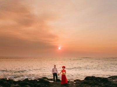Villa Arika Wedding // Joan & Amelie Wedding by Kadek