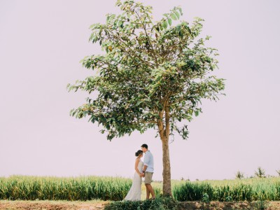 Bali Wedding Destination // Melanie & Mitch // Wedding at Chalina Estate - Canggu - Bali // by Diktat
