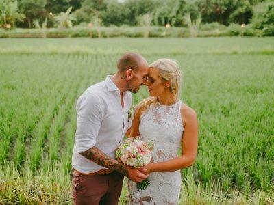 Komune Beach Wedding // Jess & Craig Wedding by Kadek