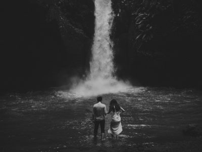 Flirting With Nature Engagement // Howard & Zhen Engagement by Kadek