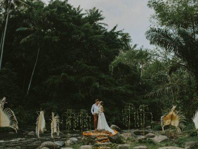 Bali Wedding Destination // Elaine + Glenn at Bambu Indah Ubud by Kadek
