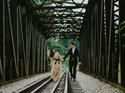 Singapore Prewedding Destination // Nikole + Ardika Prewedding by Kadek