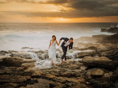 Lembongan Wedding Destination // Hannah + Quenten // Sandy Bay // By Nyoman