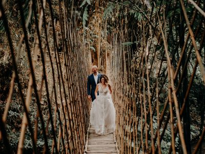Bali Wedding Destination // Lindsey + Dayne // Bambu Indah - Ubud // By Nyoman